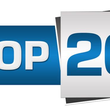 Weekly top 20